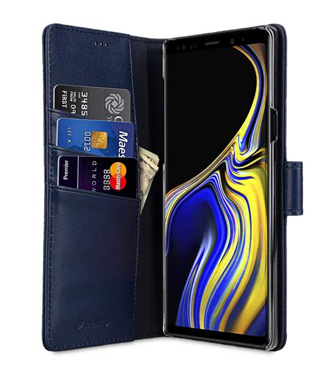 9 Samsung Cases Premium Leather For Samsung Galaxy Note 9 Wallet Book Clear Type Stand