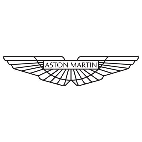 Aston martin logo vinyl sticker 163 1 99 blunt one affordable bespoke vinyl signs and graphics