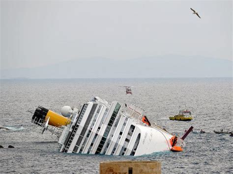 titanic boat cost costa concordia cruise ship sinking a timeline of