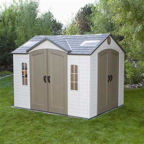 Lifetime Garden Shed by Bettymills 10 X 8 Garden Shed With 2 Doors Lifetime