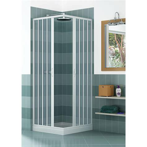 cabina doccia a soffietto box doccia in pvc a 2 lati scorrevole a soffietto