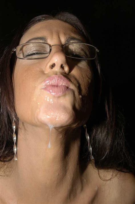 Cum Loving Bukkake Slut In Glasses Emma Butt Sucks Cocks And Makes Guys Ejaculate