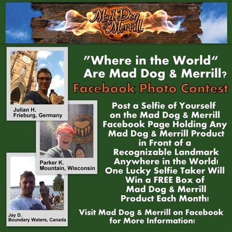 mad and merrill quot where in the world is mad and merrill quot contest