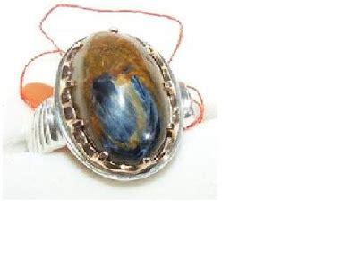 Cincin Blue Gugur 10 Ring Perak Handmade cincin rings september 2010