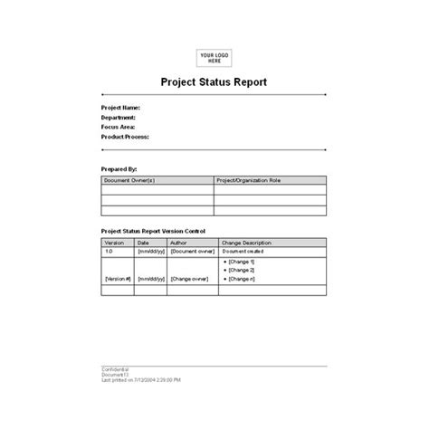 simple report template word report document format new