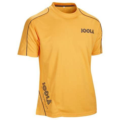 joola table tennis clothing joola competition table tennis t shirt