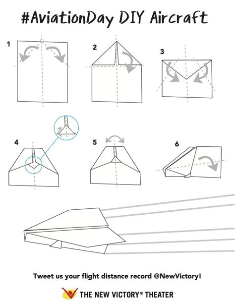 How To Make Your Own Paper Airplane - follow these to make your own paper airplanes