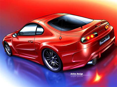 Toyota Supra Design Toyota Supra Act By Active Design On Deviantart