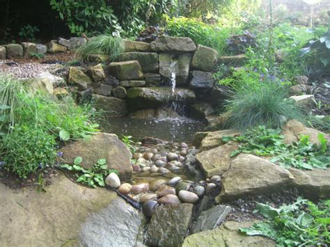Backyard Water Features Ideas by Water Garden Ideas Photos House Beautiful Design