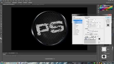 tutorial photoshop cs6 logo photoshop cs6 tutorial logo hd youtube