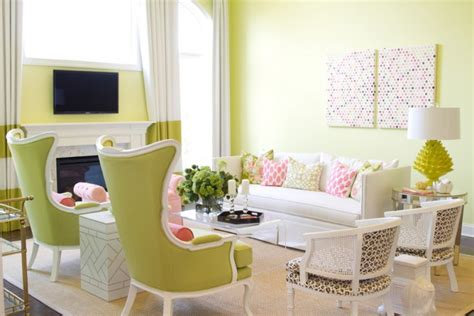 Decorating Ideas Living Room Lime Green 15 Lime Green Living Room Designs