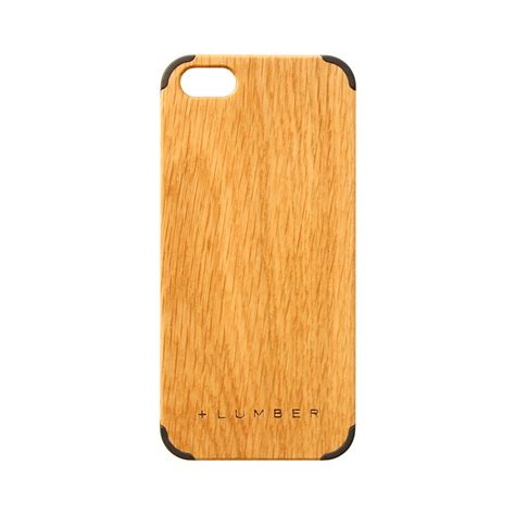 Iphone 5 5s Wooden Bumper wooden for iphone oak 5 5s hacoa touch of