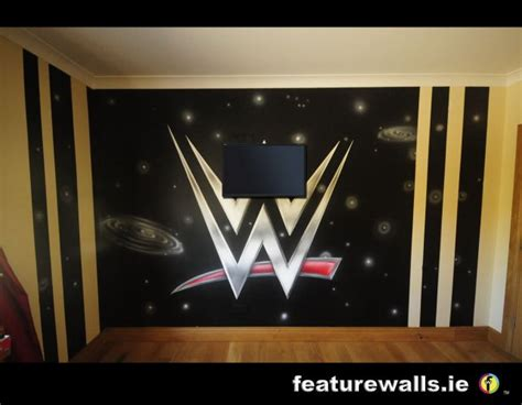 Wwe Wall Mural kids murals childrens rooms decorating kids rooms super