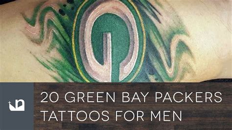 green bay packer tattoos 20 green bay packers tattoos for