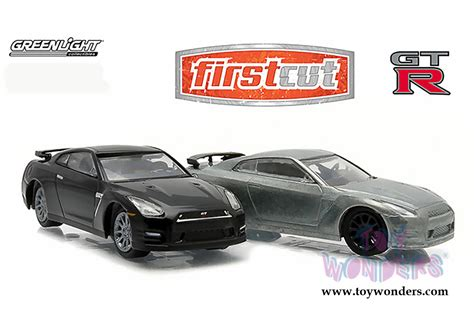 nissan gt r r35 top top firstcut 29831 1 6 scale greenlight wholesale diecast model car