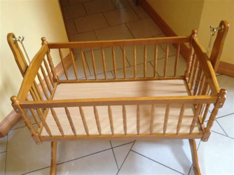 Wooden Rocking Crib by Wooden Rocking Crib For Sale In Maynooth Kildare From