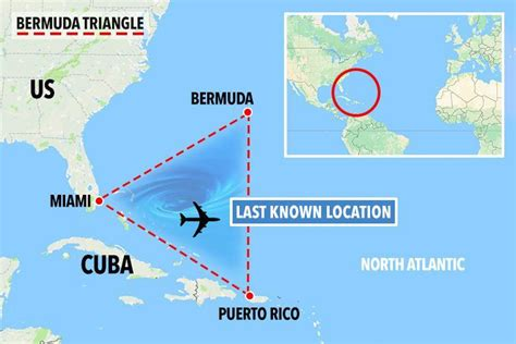 Karet Triangle the mystery of bermuda triangle has been finally solved