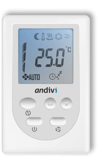 trc programmable room thermostat modbus room controller
