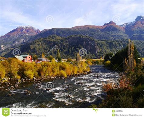 rugged land rivers stock photo image 48250266