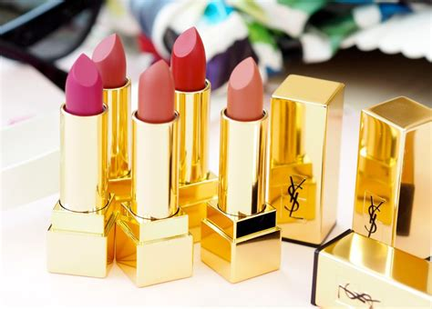 Lipstik Ysl Matte ysl beaut 233 introduce five new shades of matte lipsticks fashion for lunch