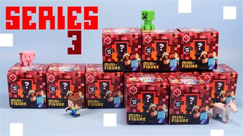Pajangan Figure Minecraft Mini Figur Minifigures Seri 3 minecraft mini figure netherrack series 3 collection review codes