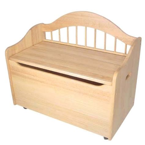 childrens toy box bench woodworking projects plans
