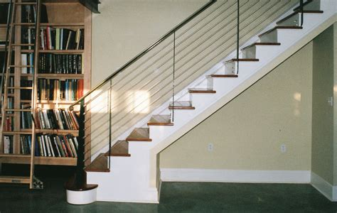Glass staircase railing attractive staircase railing design