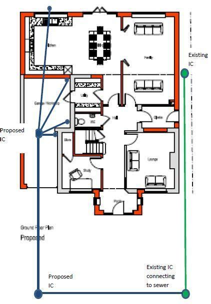 Drainage design for extension   DIYnot Forums