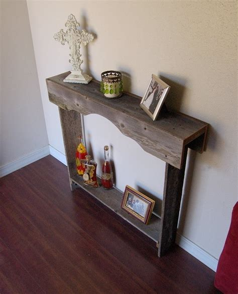 Small Entryway Table Console Table Small Entry Table Rustic Furniture