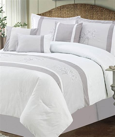 spring comforter sets this silver spring blossom comforter set by chd textiles