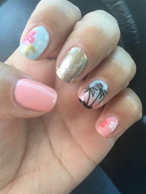 Hawaiian Nail Ideas
