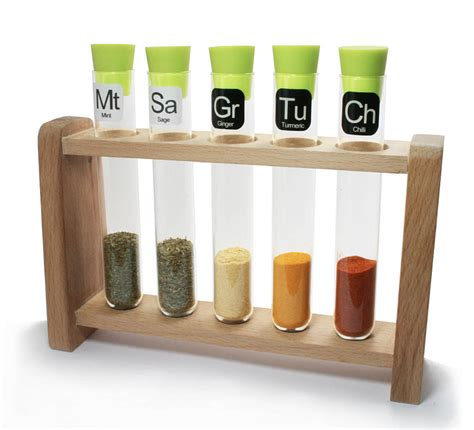 Science Spice Rack scientific spice rack with spices by thelittleboysroom
