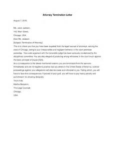 Termination Letter For Legal Services Attorney Termination Letter Hashdoc