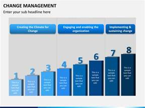 change template powerpoint change management powerpoint template
