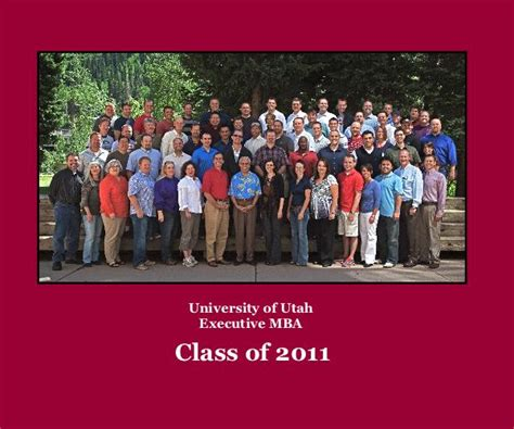 Univesity Of Utah Mba Address by Of Utah Executive Mba By Ferret36 Blurb Books