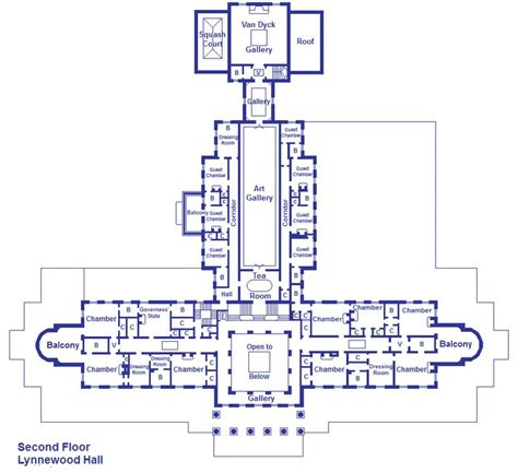 second floor plan lynnewood hall 2nd floor plan mansions other pinterest