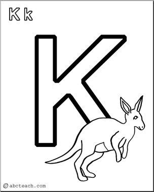 abcteach coloring pages coloring page alphabet k abcteach