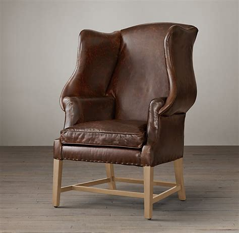 Leather Wingback Chair Design Ideas Chair Comfortable Leather Wingback Chair Design Leather Wingback Chair Chesterfield