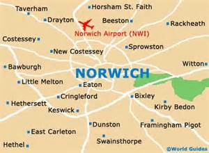 Norwich England Map by Norwich Maps And Orientation Norwich Norfolk England