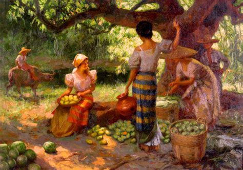 biography of filipino artist fernando amorsolo s paintings