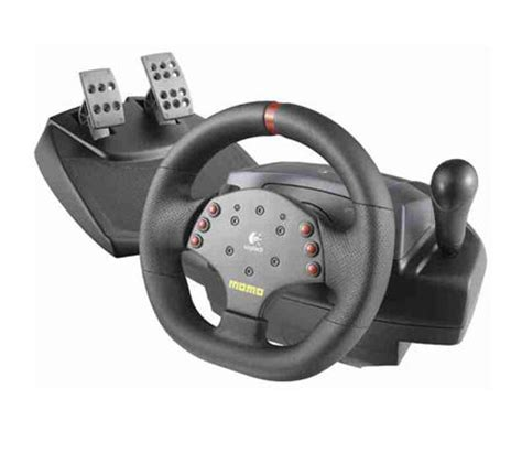 volante logitech logitech momo racing feedback wheel test complet