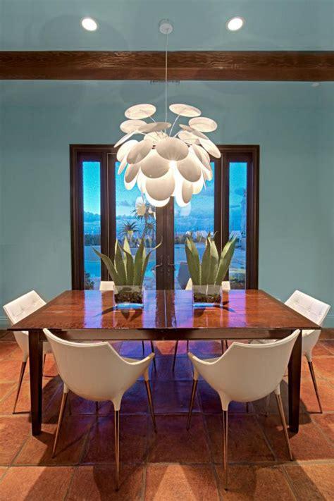 modern dining room  mediterranean flair hgtv