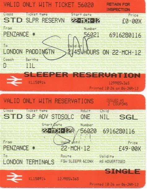 Caledonian Sleeper Tickets by Great Western 171 Robert Hton