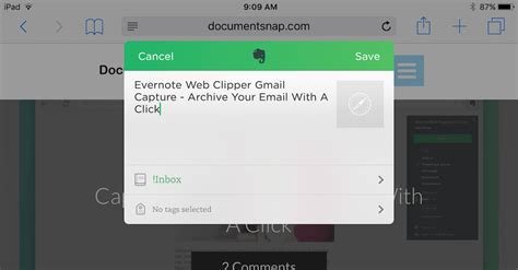 evernote web clipper android evernote web clipper for ios now supports tags