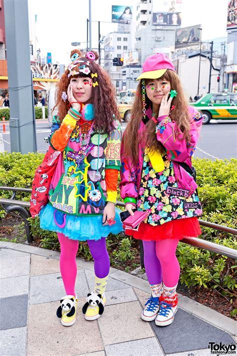 harajuku rainbow decora color explosion