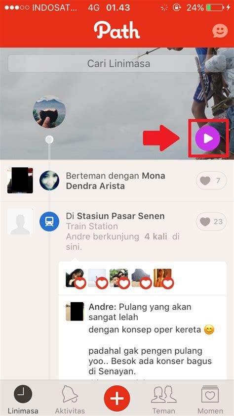 membuat video story instagram cara membuat coverstory di path fitur path yang mirip