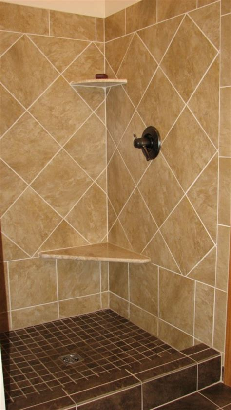 Tile Shower Shelf Ideas by Installing Tile Shower And Floor Labra Design Build