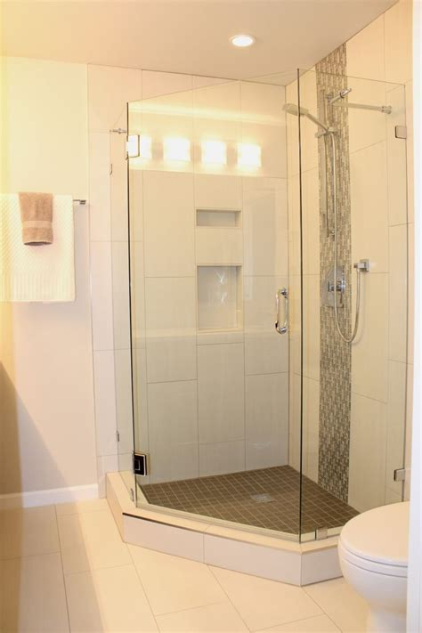 25 best ideas about stand up showers on tub