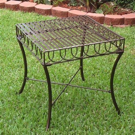 Iron Patio Table Iron Outdoor Patio Side Table 3481 St