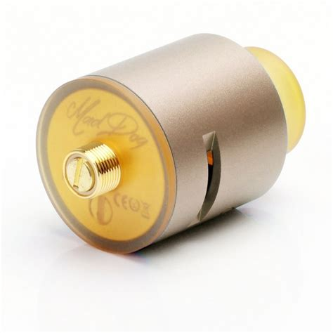 Rda Mad 24mm Authentic authentic desire mad rda gold 24mm rebuildable atomizer